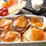 Mini naleśniki zapiekane z serem