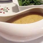 Kremowy sos do indyka pieczonego