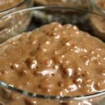 Pudding ryżowy mocno czekoladowy