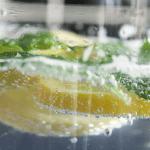 Orzeźwiający napój cytrynowo - miętowy