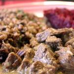 Wołowina w sosie z kurkumą