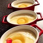 Jaja z pasternakiem w kokilkach