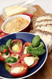 Pomidorki zapiekane z mozzarella