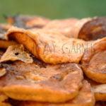 Placki serowe z dynią na słodko